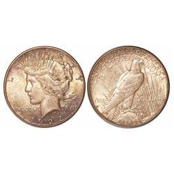 USA (San Francisco mint), $1 Peace, 1927-S.