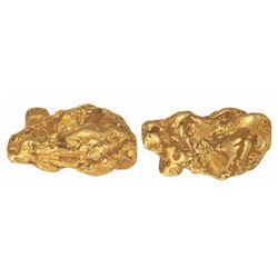 Large natural gold nugget from Alaska, 81.80 grams.