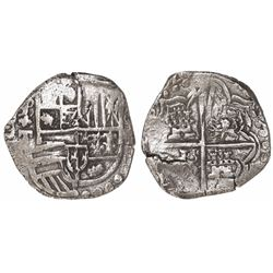 Potosi, Bolivia, cob 4 reales, (1)620T, Grade 1.