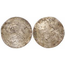 """Utrecht, United Netherlands, """"lion"""" daalder, 1616."""