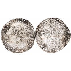 "Zeeland, United Netherlands, ""lion"" daalder, 1616."