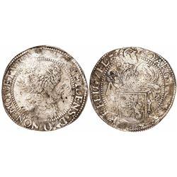 "Zeeland, United Netherlands, ""lion"" daalder, 1619."