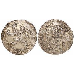 """Holland, United Netherlands, """"lion"""" daalder, 1624."""