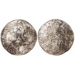 "Zeeland, United Netherlands, ""lion"" daalder, 1627."