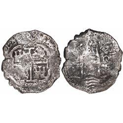 Potosi, Bolivia, cob 8 reales, 167(?)E.