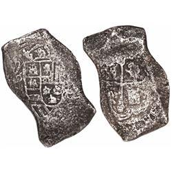 Mexico City, Mexico, cob 8 reales, (17)13(J).