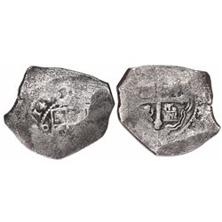 Mexico City, Mexico, cob 8 reales, (1)714(J).
