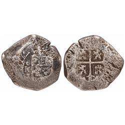 Mexico City, Mexico, cob 8 reales, (1)714J, ex-Rupe Gates.