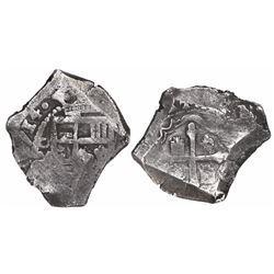 Mexico City, Mexico, cob 4 reales, (1)714(J).