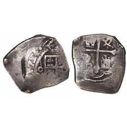 Mexico City, Mexico, cob 4 reales, 1714(J).