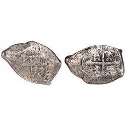 Mexico City, Mexico, cob 8 reales, (17)19(J), rare.