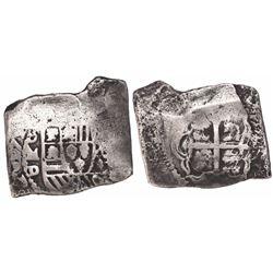 Mexico City, Mexico, cob 8 reales, 172(6-8)D.