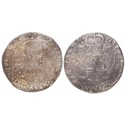 Brabant, Spanish Netherlands (Antwerp mint), portrait ducatoon, Philip IV, 1652.