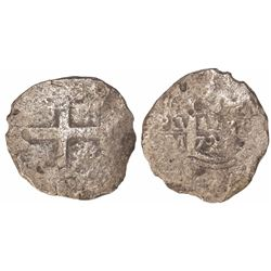 Lima, Peru, cob 8 reales, 1721M.
