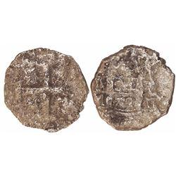 Lima, Peru, cob 4 reales, 1722M, rare.