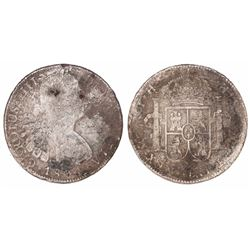 Mexico City, Mexico, bust 8 reales, Charles IV, 1804TH.