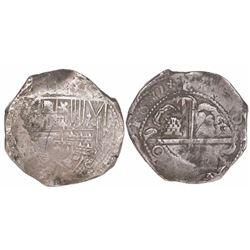 Potosi, Bolivia, cob 8 reales, 1630(T).