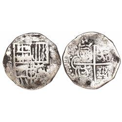 Potosi, Bolivia, cob 4 reales, (161)8T, rare.