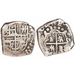 Potosi, Bolivia, cob 1 real, 1620(T), rare.