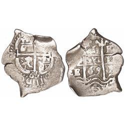 Potosi, Bolivia, cob 1 real, 1669E.
