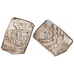 Guatemala, cob 8 reales, (173)4 or (174)4J.