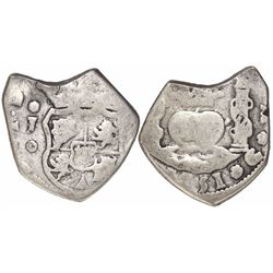 Guatemala, cob 2 reales, 1751J.
