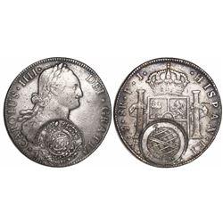 Brazil (Minas Gerais), 960-reis, Joao Prince Regent, crowned-arms counterstamp (1808-10) on a Potosi