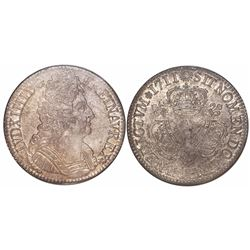 France (Paris mint), ecu, Louis XIV, 1711-A, encapsulated NGC AU 58, tied for finest known in NGC ce