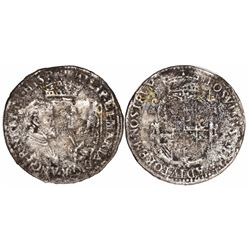 England, shilling, Philip and Mary (1554-58), no date, no denomination.