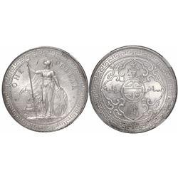 Great Britain, trade dollar (Britannia issue), 1902-B, encapsulated NGC MS 62.