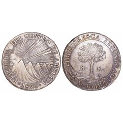 Guatemala (Central American Republic), 8 reales, 1826/5M.