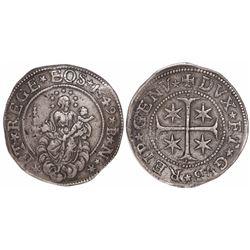 Genoa, Italian States, scudo, 1649BN.