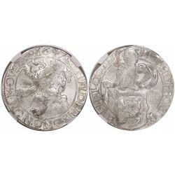 """Gelderland, Netherlands, """"lion"""" daalder, 1647, encapsulated NGC MS 61."""