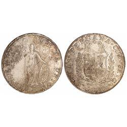 Cuzco, Peru, 8 reales, 1828G.