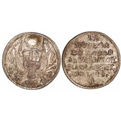 Peru, silver medal, 1840, National Pavilion.