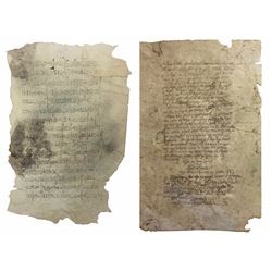 English letter and cipher-code statement by supposed pirate Eli Fleete dated December 14, 1553 detai
