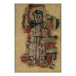 Textile Fragment - Figure