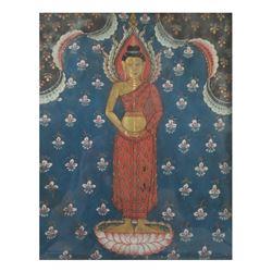 Thai School, Gouache - Buddha