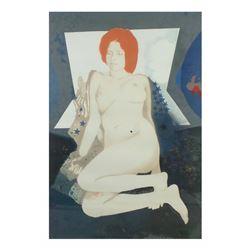 R. Eagerton, Lithograph - Nude