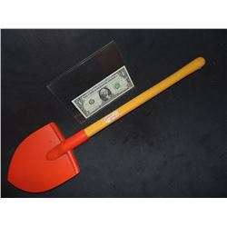 CHILD'S PLAY 2 SCREEN USED SHOVEL ACTOR USES TO BURY GOOD GUY DOLL