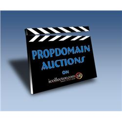 001 NOW ONLY 13% TO CONSIGN YOUR PROPS FOR OUR NEXT AWESOME AUCTION!