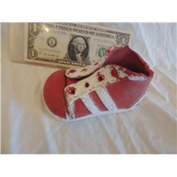 CURSE SEED OF CHUCKY SACREEN USED HERO LEFT SHOE WORN BY ANIMATRONIC PUPPET 2