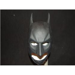 BATMAN THE DARK KNIGHT COWL SCREEN USED STUNT OR TEST