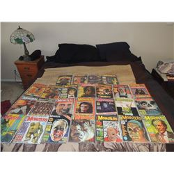 FAMOUS MONSTERS STARTER COLLECTION HUGE LOT OF 25 MAGAZINES OR NICE RESALE LOT