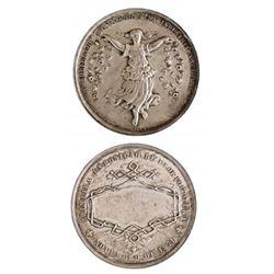 Brazil 1871 Industrial Exposition Medal