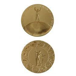 U.S. 1969 Moon Landing Gold Medal