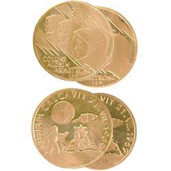 2 Aureus Magnus 1968-1969 Gold Medals
