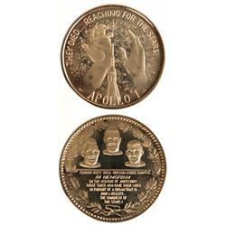 U.S. C.1967 Apollo I Gold Medal