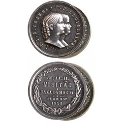 2 Brazil  Isabella & Leopoldina  Medals