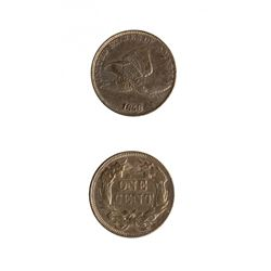 United States 1858 Flying Eagle Cent